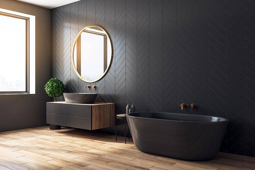 modern bathroom design torquay